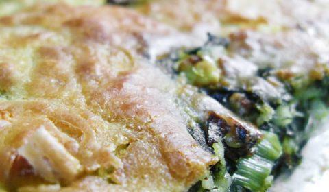 """""""Μπατσαριά"""", πίτα μέ χόρτα στο Λίθο στα Ζαγοροχώρια"""